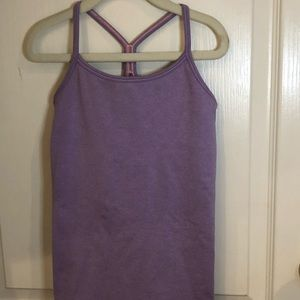 Ivivva Lavender Tank Top Size 8